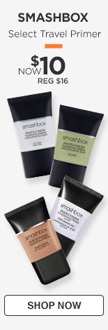 In store and online. Select Travel Primer. Now $10, Regular $16.