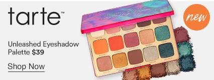 Tarte - Unleashed Eyeshadow Palette, $39