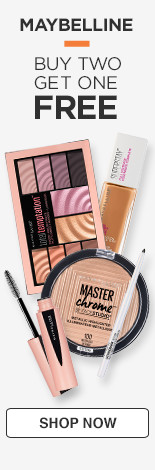 Maybelline Buy 2, Get 1 Free