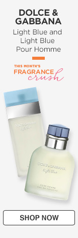 Fragrance Crush! Dolce & Gabbana Light Blue and Light Blue Pour Homme.