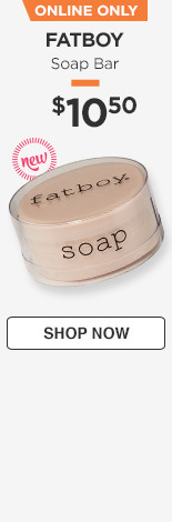 New! Online only! Soap Bar $10.50