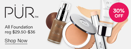 Pur Foundation 30% off