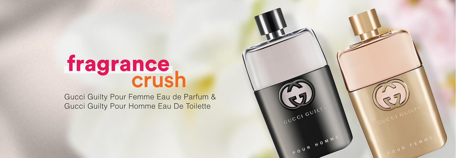 July Fragrance Crush at Ulta Beauty - Gucci Guilty Pour Femme Eau de Parfum & Gucci Guilty Pour Homme Eau De Toilette