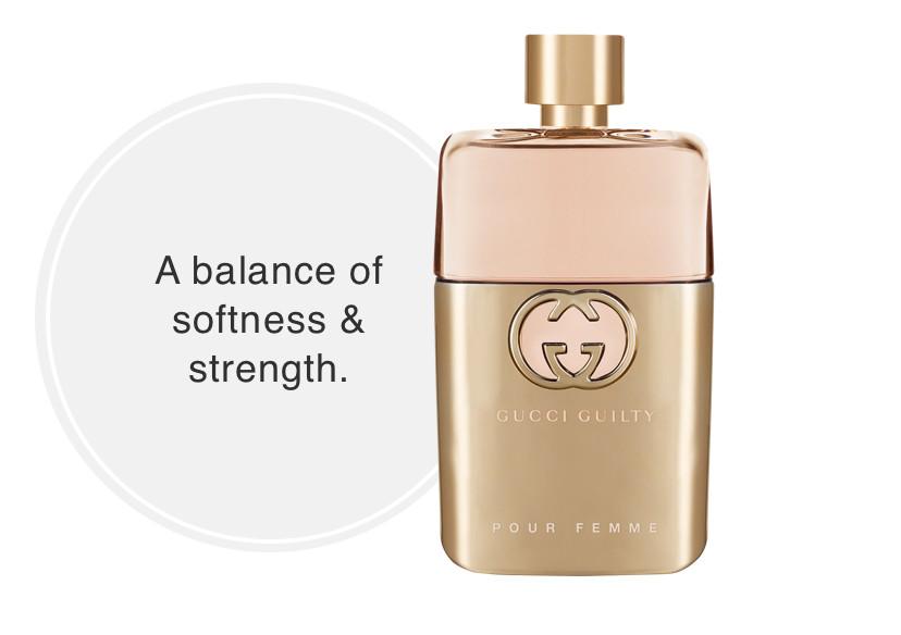 Gucci Guilty Pour Femme  Eau de Parfum - A balance of softness & strength.