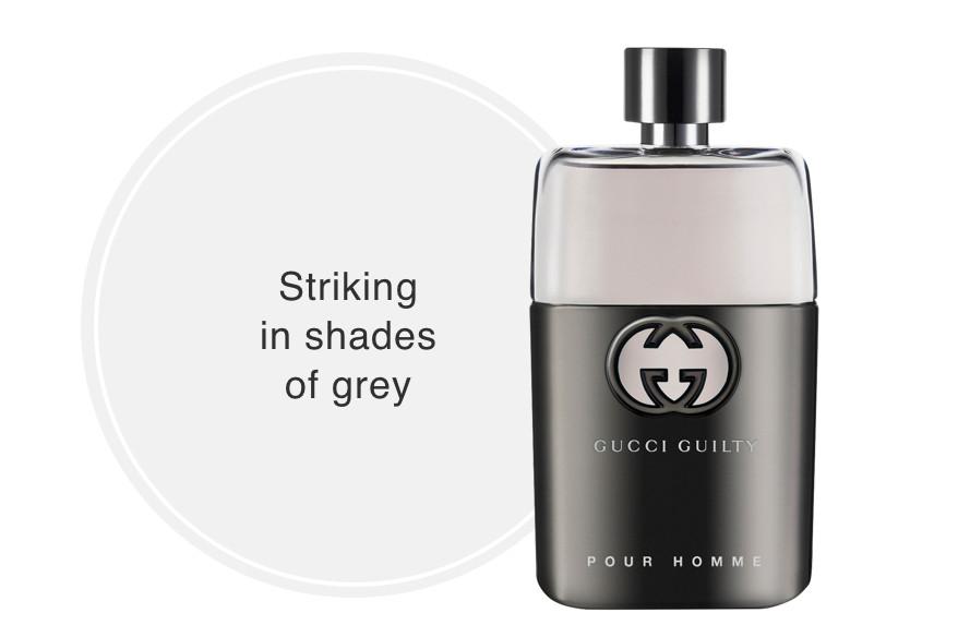 Gucci Guilty Pour Homme Eau De Toilette - Striking  in shades  of grey