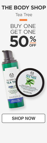 Tea Tree Buy One Get One 50% off
