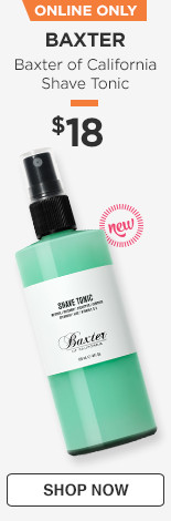 Now on Ulta.com! Baxter