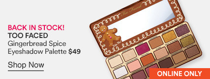 Gingerbread Spice Eyeshadow Palette $49