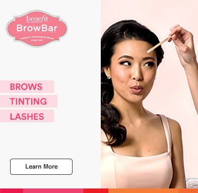Benefit Brow bar. Brows. Tinting. Lashes.