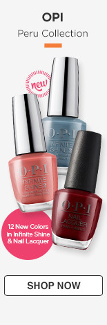 New! OPI Peru Collection 12 new colors in Infinite shine and nail lacquer.