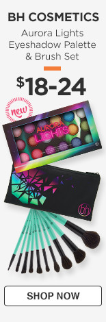 BH Cosmetics Aurora Lights Eyeshadow Palette & Brush Set $18-24