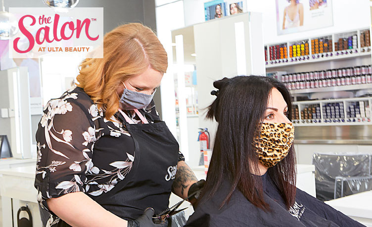 The Salon at Ulta Beauty is back at it with your style and safety in mind. Select salon locations are now open. Book your hair appointment today!