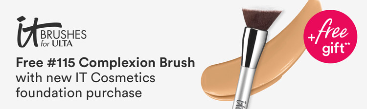FREE Airbrush Complexion Perfection Brush #115 with any Your Skin But Better Foundation Purchase
