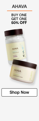 Ahava Buy One Get One 50% off