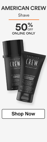 American Crew Shave 50% off
