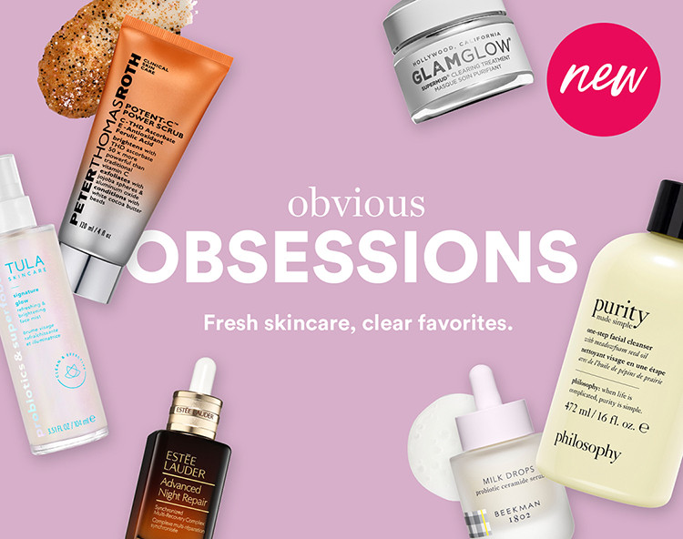 Current Obsessions Skincare