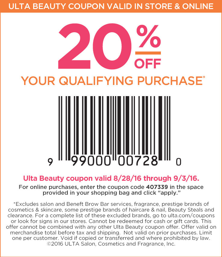 ulta com coupon code