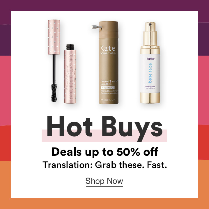 Shop Hot Buys during Ulta Beauty's 21 Days of Beauty. Save up to 40% off your favorite makeup, skincare, and hair care brand.