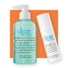 Shop Ulta Beauty's 21 Days of Beauty and receive 30% off Philosophy Select Clear Days Ahead Acne Collection (Regular value: $19.00-42.00).