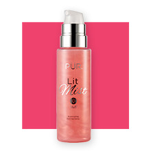 Shop Ulta Beauty's 21 Days of Beauty and receive 30% off Pur Lit Mist Illuminating Setting Spray (Regular value: $42.00).