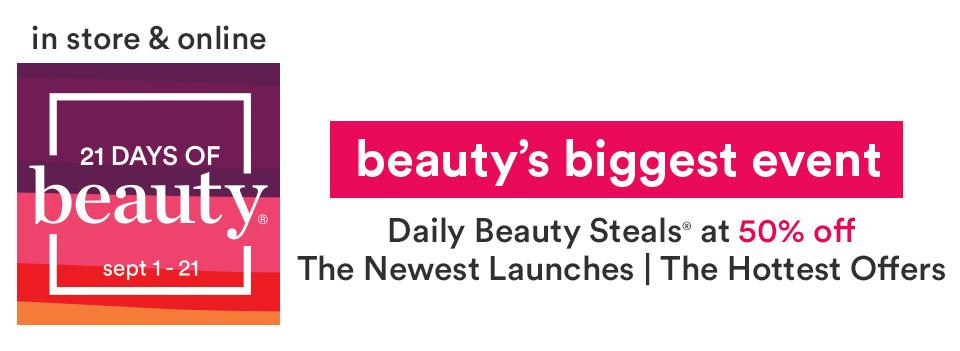 21 Days of Beauty Event | Ulta Beauty