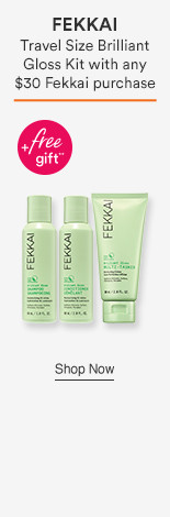 Travel size Brilliant gloss kit with any $30 Fekkai Purchase