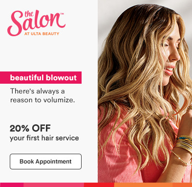 20% off your first hair service*. : *Offer valid for new, first-time salon guests.  Must present promotional offer at time of service.