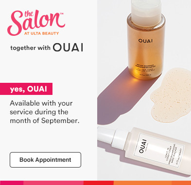 Experience OUAI at your next salon appointment!  Book appointment.