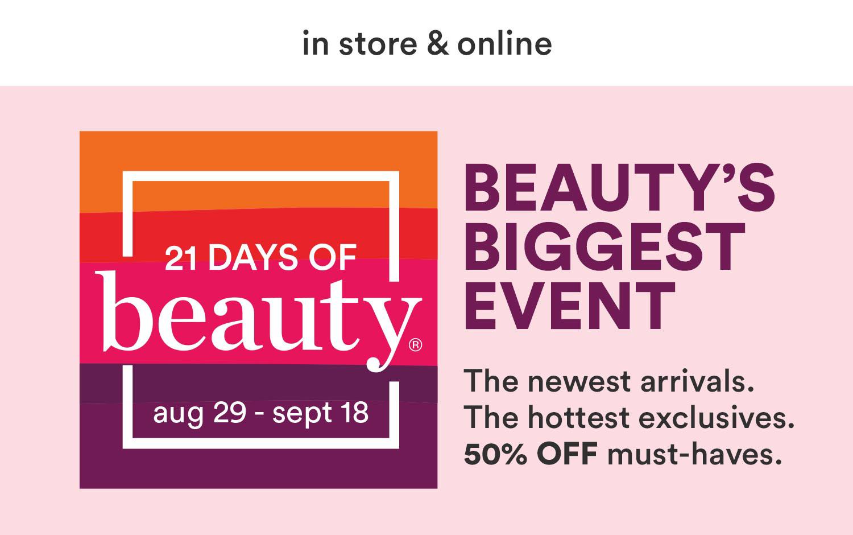21 Days of Beauty 2021   Ulta Beauty
