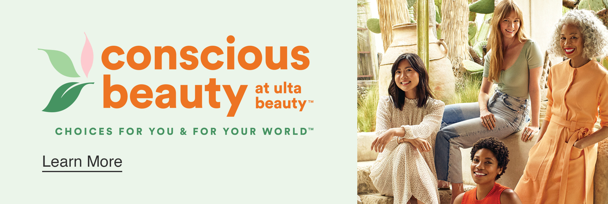 Conscious Beauty at Ulta Beauty - Choices for you & for your world