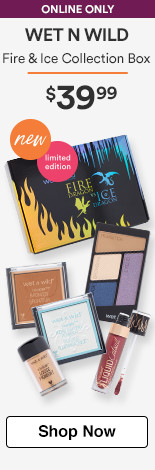 Wet n Wild Online Only Limited Edition Fire & Ice Collection Box $39.99