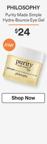 NEW! Purity Made Simple Hydra-Bounce Eye Gel $24