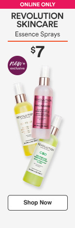 Revolution Skincare CBD Essence Spray $7 Niacinamide Essence Spray $7 Caffeine Essence Spray $7