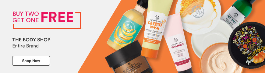 The Body Shop B2G1 Mix & Match
