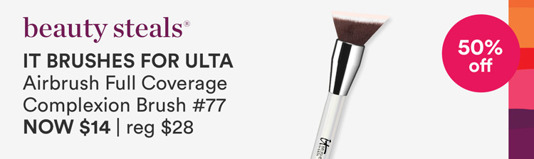 Offer Brush Bath & #77 Airbrush Full Coverage Complexion Brush Reg $19.5 -28 | Now $9.75 - 14