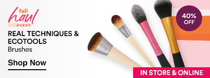 Real Techiniques 40% off Brushes