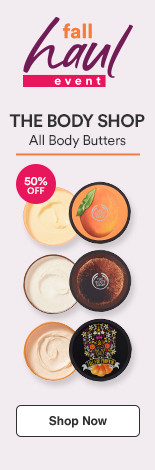 Fall Haul: 50% off Body Butters