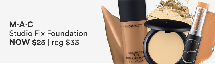 Studio Fix Foundations Now $25 | reg $33