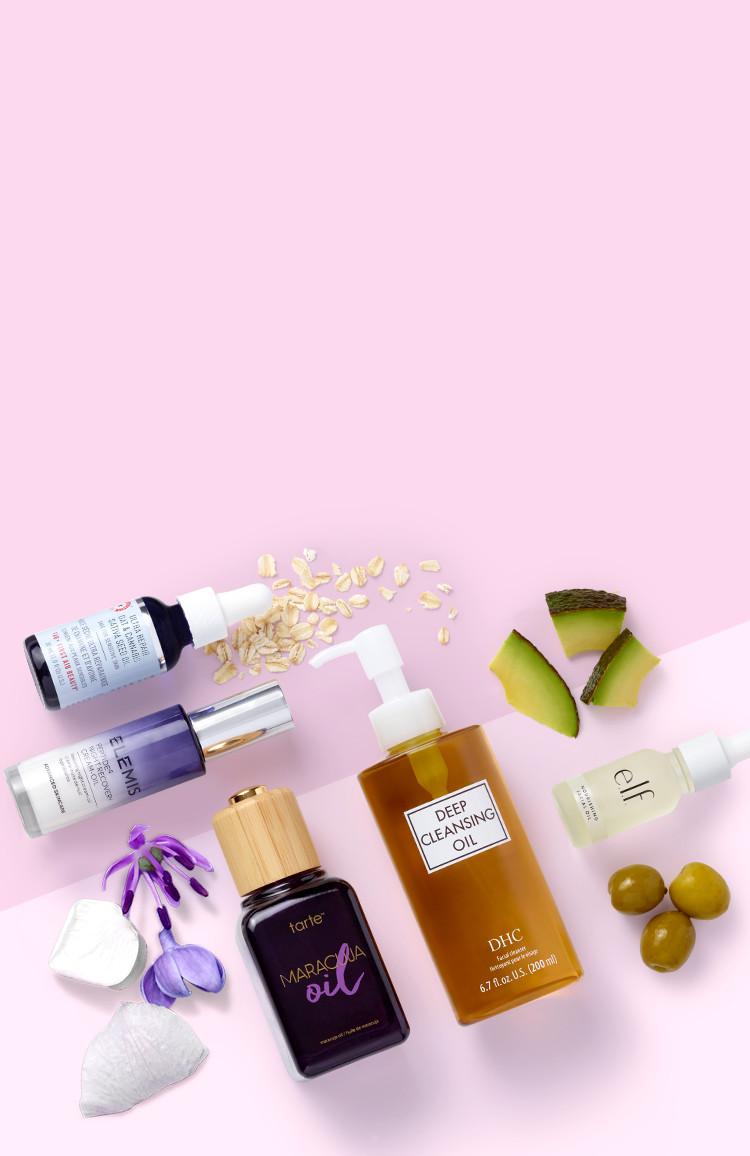 This months skin-fatuation - Oils