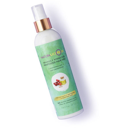 Naturalicious Heavenly Hydration Grapeseed Hair Mist
