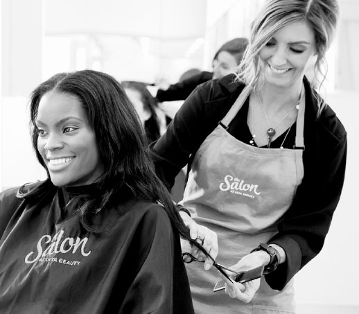 Receive a Haircut & Style, 10-Minute Express Facial, or Pink Hair Extension during Ulta Beauty's Cut for a Cause event on Sunday, October 13th 11 am to 6pm