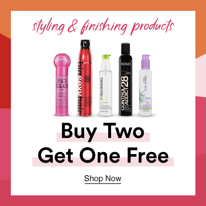Buy Two Get One Free - Styling and Finishing Products