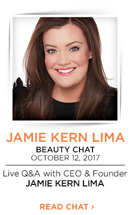 IT Cosmetics Beauty Chat on October 12, 2017. Live Q&A with CEO & Founder, Jamie Kern Lima. Get details.