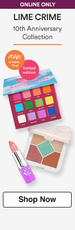 Lime Crime Limited Edition 10th Anniversary Collection