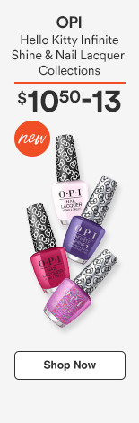 OPI Hello Kitty Infinite Shine and Nail Lacquer Collections $10.50-13