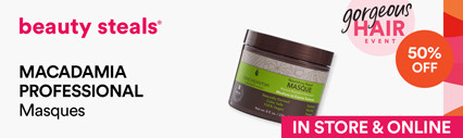 Macadamia Professional 50% off Masques