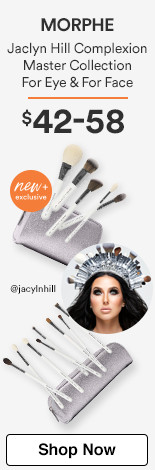 Jaclyn Hill Complexion Master Collection For Eye $42. For Face $58.