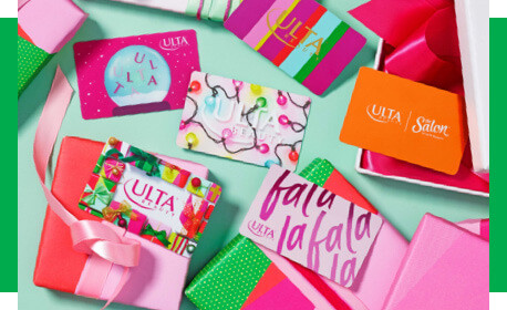 Buy Ulta Beauty Gift Cards for her or him this Holiday season.