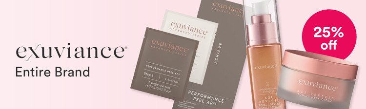 Exuviance 25% off Entire Brand