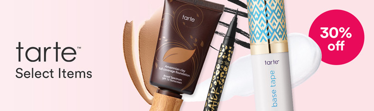 Tarte 30% off Select Items